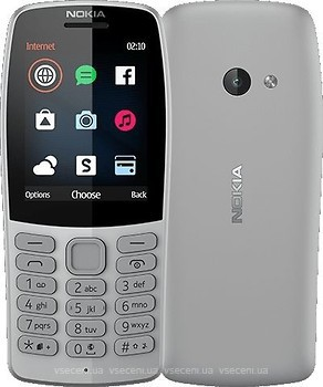 Фото Nokia 210 (2019) Grey Dual Sim