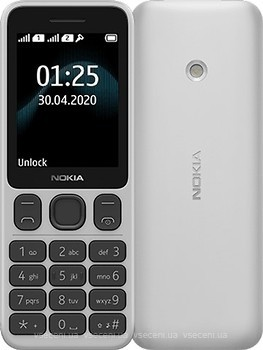 Фото Nokia 125 White Dual Sim