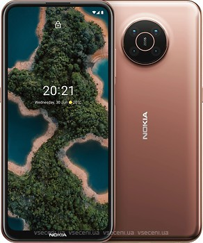 Фото Nokia X20 8/128Gb Midnight Sun