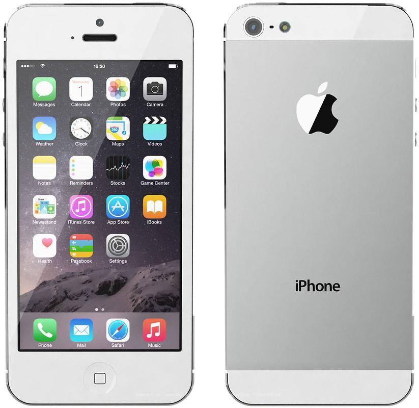 Iphone 5 - такие яблоки не стареют и не гниют