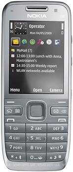 Фото Nokia E52 Silver