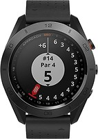 Фото Garmin Approach S60 Premium Black Ceramic Bezel with Black Leather Band (010-01702-03)