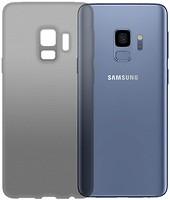 Фото GlobalCase Samsung Galaxy S9 Extra Slim TPU темный (1283126482113)