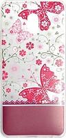 Фото Florence Чехол на Meizu M6 Note Silk 3D Butterflies Transparent (RL052058)