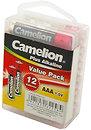 Фото Camelion AAA Alkaline 12 шт Plus Alkaline (LR03-PBH12)
