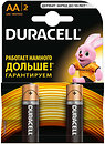 Фото Duracell AA Alkaline 2 шт Basic (81267329)