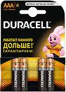Фото Duracell AAA Alkaline 4 шт Basic (81545421)
