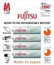 Фото Fujitsu AA 1900mAh NiMh 4 шт 4B (HR-3UTCEX)