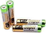 Фото GP Batteries AAA LR03 1.5B Ultra GP Alkaline (24A-S2)