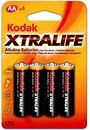 Фото Kodak AA Alkaline 4 шт XtraLife (30952027)