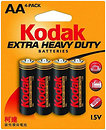 Фото Kodak AA Zinc-Carbon 4 шт Extra Heavy Duty (30951044)