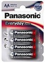 Фото Panasonic AA Alkaline 4 шт Everyday Power (LR6REE/4BR)