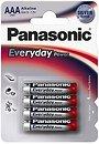 Фото Panasonic AAA Alkaline 4 шт Everyday Power (LR03REE/4B)