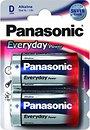 Фото Panasonic D Alkaline 2 шт Everyday Power (LR20REE/2BR)