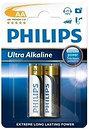 Фото Philips AA Alkaline 2 шт Ultra Alkaline (LR6E2B/10)