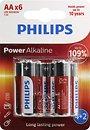 Фото Philips AA Alkaline 4+2 шт PowerLife (LR6P6BP/10)