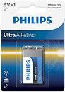 Фото Philips Krona Alkaline 1 шт Ultra Alkaline (6LR61E1B/10)