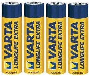 Varta AA Alkaline 10 шт LongLife Extra (04106101461)