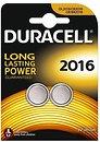 Фото Duracell CR-2016 3B Lithium 2 шт (81546817)