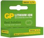 Фото GP Batteries Li-ion 18650 2200mAh 1 шт (1865T)