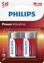 Фото Philips C Alkaline 2 шт PowerLife (LR14P2B/10)