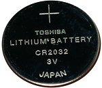 Фото Toshiba CR-2032 3B Lithium 1 шт (TOSH CR2032)