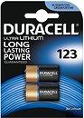Фото Duracell CR-123 3B Lithium 2 шт Ultra (5002979)