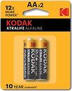 Фото Kodak AA Alkaline 2 шт XtraLife (30413382)