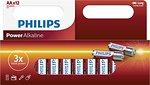 Фото Philips AA Alkaline 12 шт Power Alkaline (LR6P12W/10)