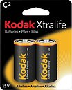 Фото Kodak C LR14 Alkaline 2 шт XtraLife (30952041)