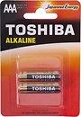 Фото Toshiba Economy Alkaline AAA/LR03 2 шт (00159939)
