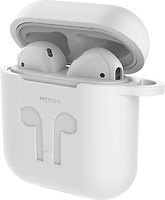 Фото Rock Carrying Case for Apple AirPods White