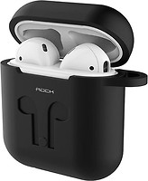 Фото Rock Carrying Case for Apple AirPods Black