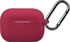 Фото 2E Pure Color Silicone Case 2.5 mm for Apple AirPods Pro Cherry Red (2E-PODSPR-IBPCS-2.5-CHR)