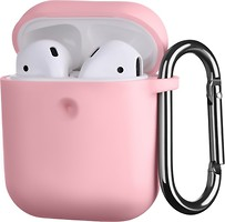 Фото 2E Pure Color Silicone Case 3.0 mm for Apple AirPods Light Pink (2E-AIR-PODS-IBPCS-3-LPK)
