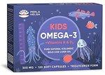 Фото Perla Helsa Kids Omega 3 + Vitamins A И D3 120 капсул