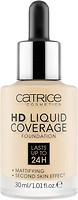 Фото Catrice HD Liquid Coverage Foundation №002 Porcelain Beige