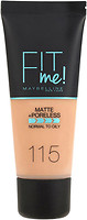 Фото Maybelline Fit Me! Matte and Poreless Foundation №115 Ivory