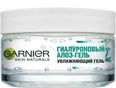 Фото Garnier гиалуроновый алоэ-гель для нормальной и смешанной кожи лица Skin Naturals Face Gel 50 мл