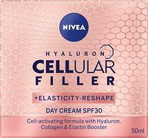 Фото Nivea дневной крем Hyaluron Cellular Filler SPF 30 50 мл