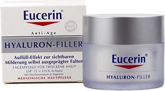 Фото Eucerin дневной крем против морщин Hyaluron-Filler Day Cream для сухой и чувствительной кожи 50 мл