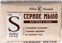 Фото Невская Косметика туалетное мыло Серное 5x 90 г