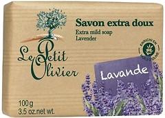 Фото Le Petit Olivier экстра нежное мыло с экстрактом лаванды 100 г