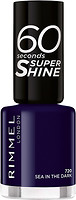 Фото Rimmel 60 Seconds Super Shine №720 Sea In The Dark