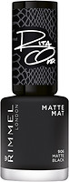Фото Rimmel 60 Seconds Super Shine Rita Ora №906 Matte Black