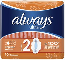 Фото Always Ultra Normal 10 шт