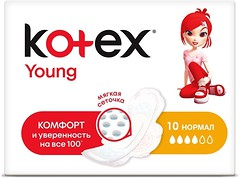 Фото Kotex Young Normal 10 шт
