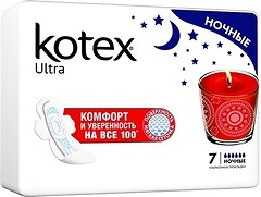 Фото Kotex Ultra Dry Night 7 шт