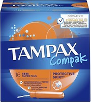 Фото Tampax Compak Super Plus 16 шт