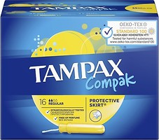 Фото Tampax Compak Regular 16 шт